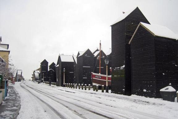 Hastings snow