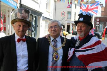 Newly elected Hastings mayor Nigel Sinden was right at the centre of things