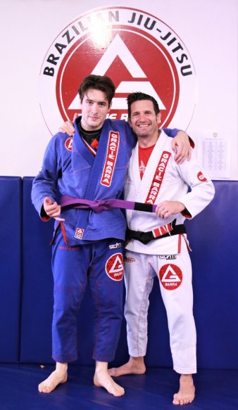 Joe Thompson purple belt
