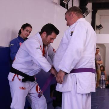John Rose getting purple