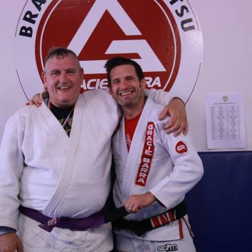 John Rose purple belt