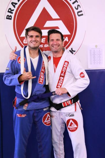 Samuli Antonen blue belt
