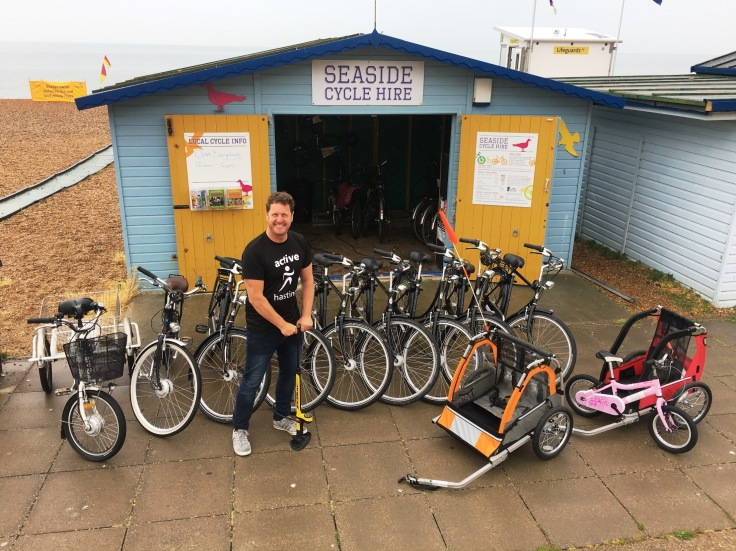 seaside cycle hire 2018
