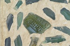You can still read what it says on the glass