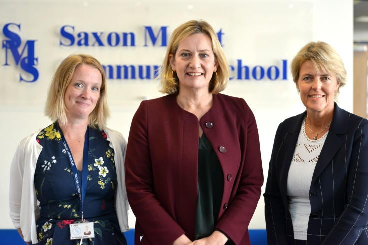 Amber at Saxon Mount School