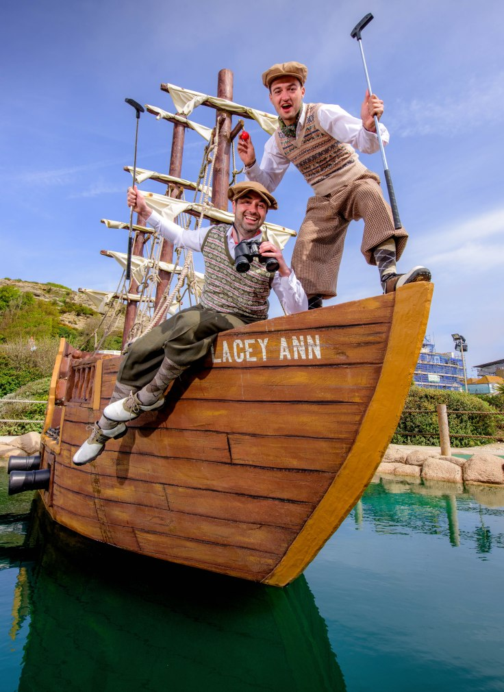 2019 Serious money up for grabs at World Crazy Golf Champs (on pirate ship at Hastings Adventure Golf