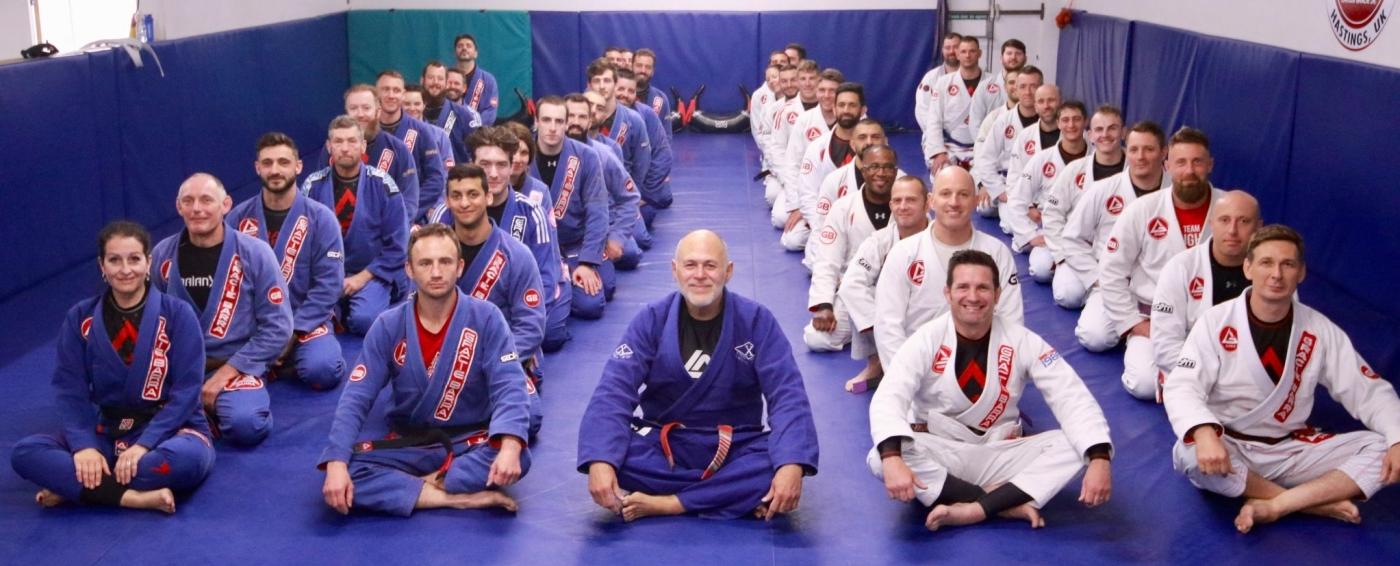 Godfather' of Jiu Jitsu shares his half century of wisdom